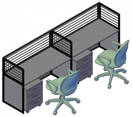 RAND рабочая станция для 2-х сотрудников